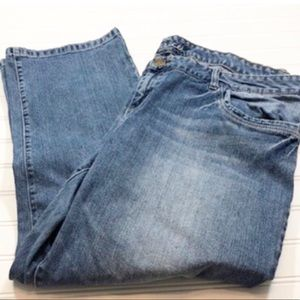 Maurice's size 24 Jeans Ankle Straight